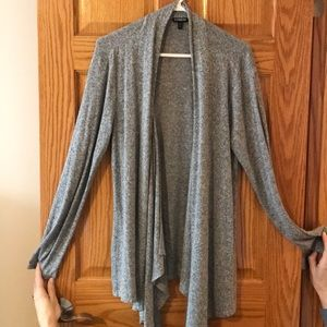 Gray Express cardigan